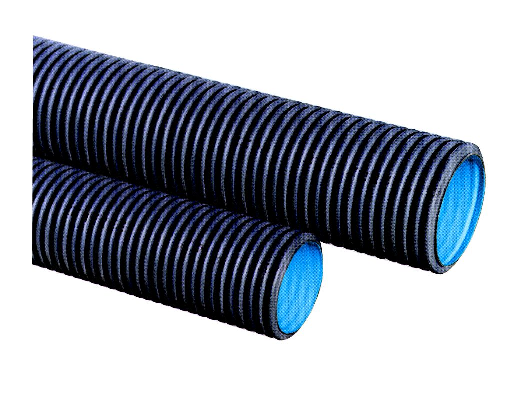 Tubi e Raccordi Corrugati in Polietilene per Fognature